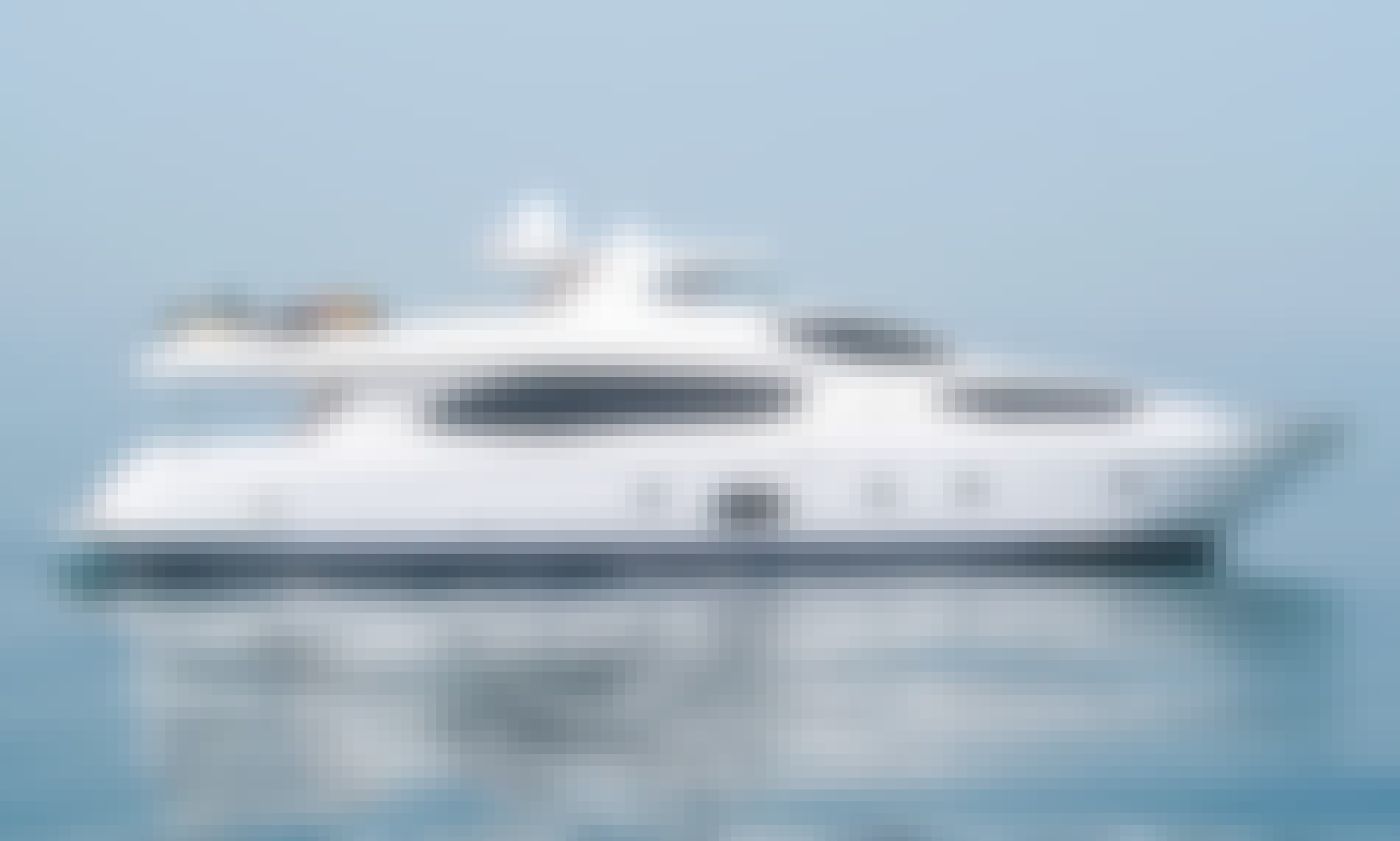 Charter on 101' Motor Yacht for 50 People in Dubai, UAE
