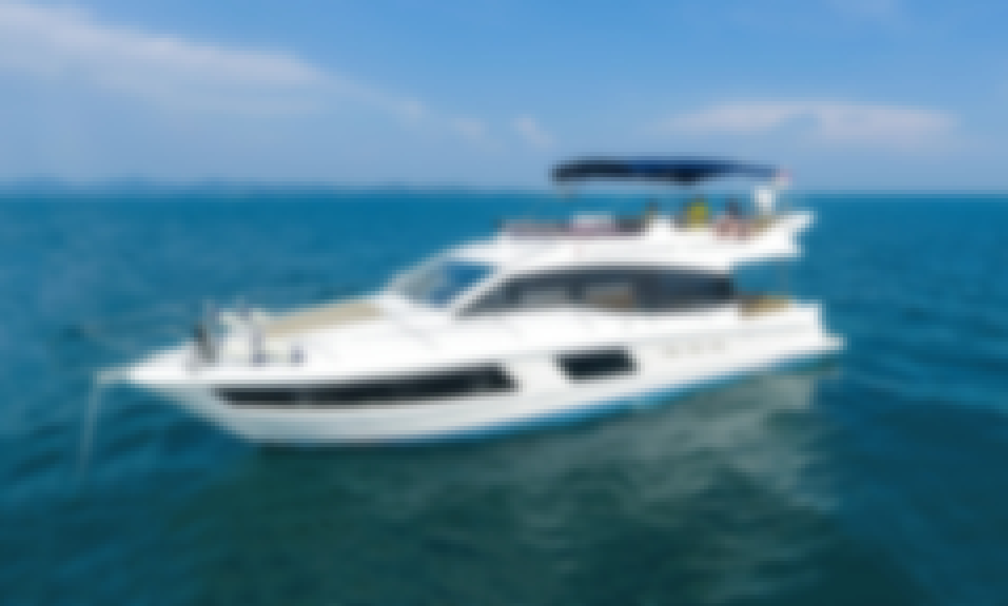 Rent yacht in Dubai 48 ft  Motor Yacht for 21 pax - Premium collection