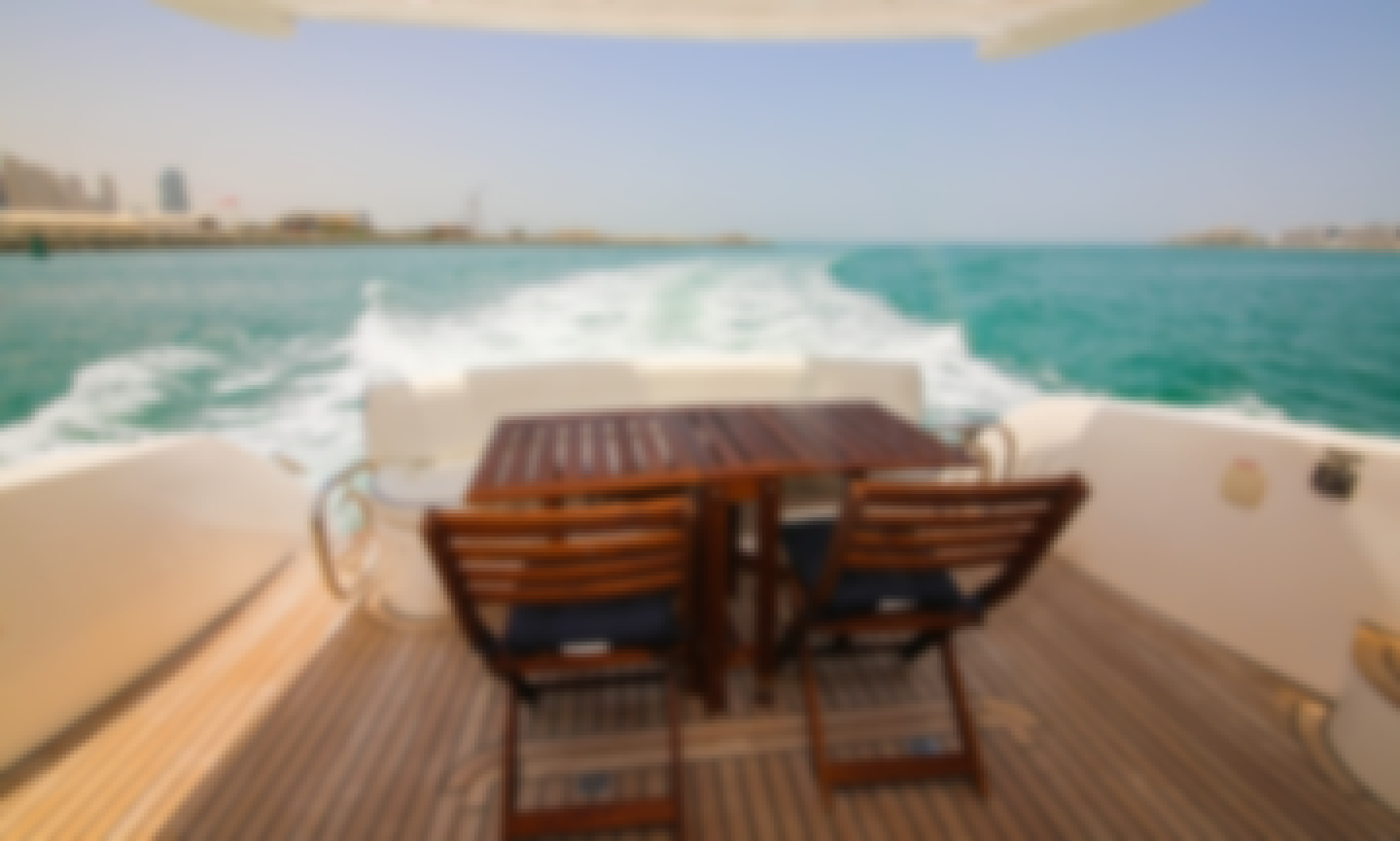 Rent Yacht 55ft Motor Yacht for 23 pax from our Standard Collection in Dubai!