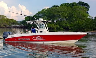 Rent 30' Welcraft Center Console 2 engine 300HP in Panamá, Panamá