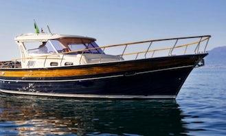 Charter the 36ft Fratelli Aprea Motor Yacht in Positano, Campania