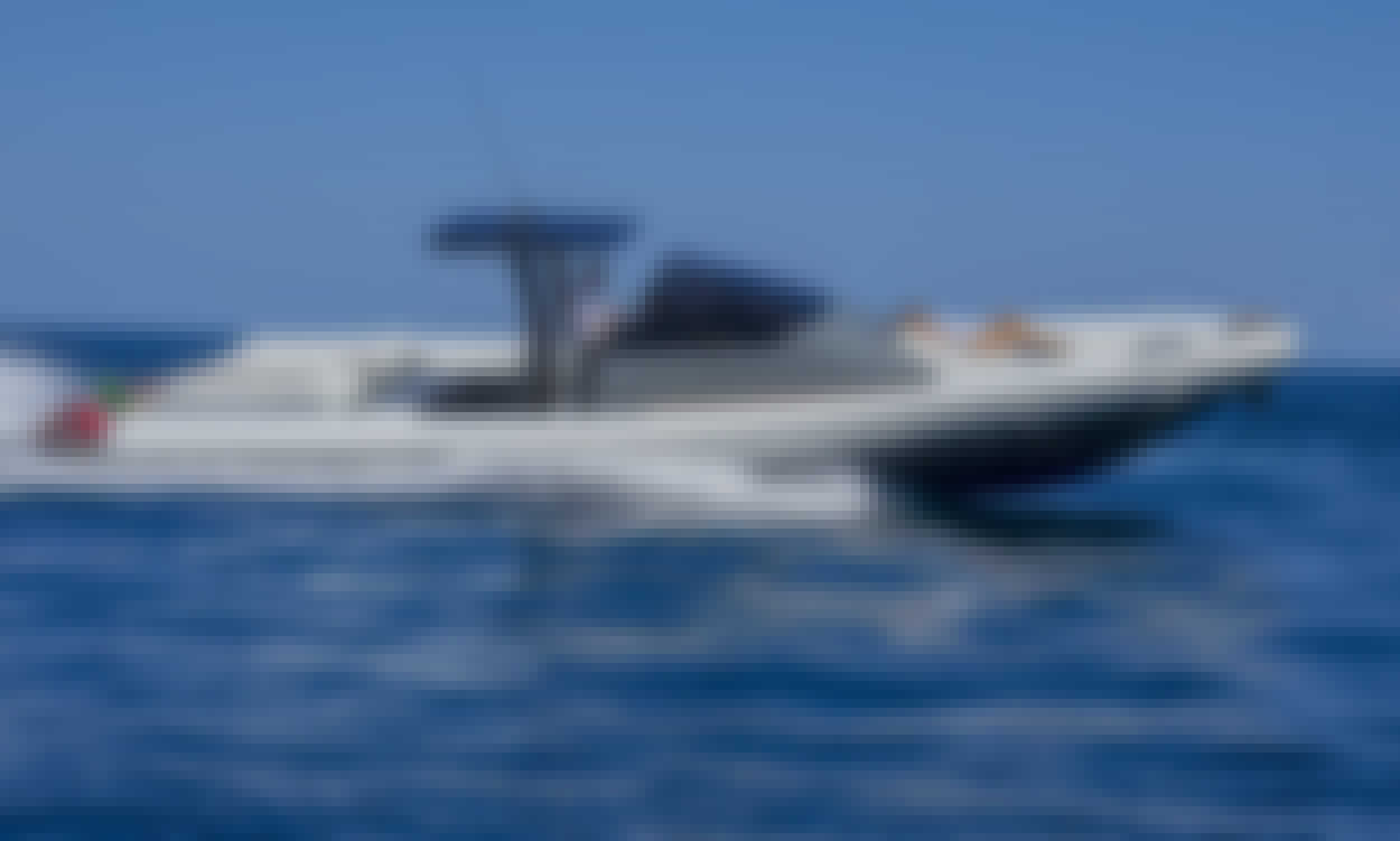 43ft open Luxury MEGA RIB BOAT, Enjoy a Fast and Exciting Adventure in Ibiza and Formentera, Spain. Best Price in the market.