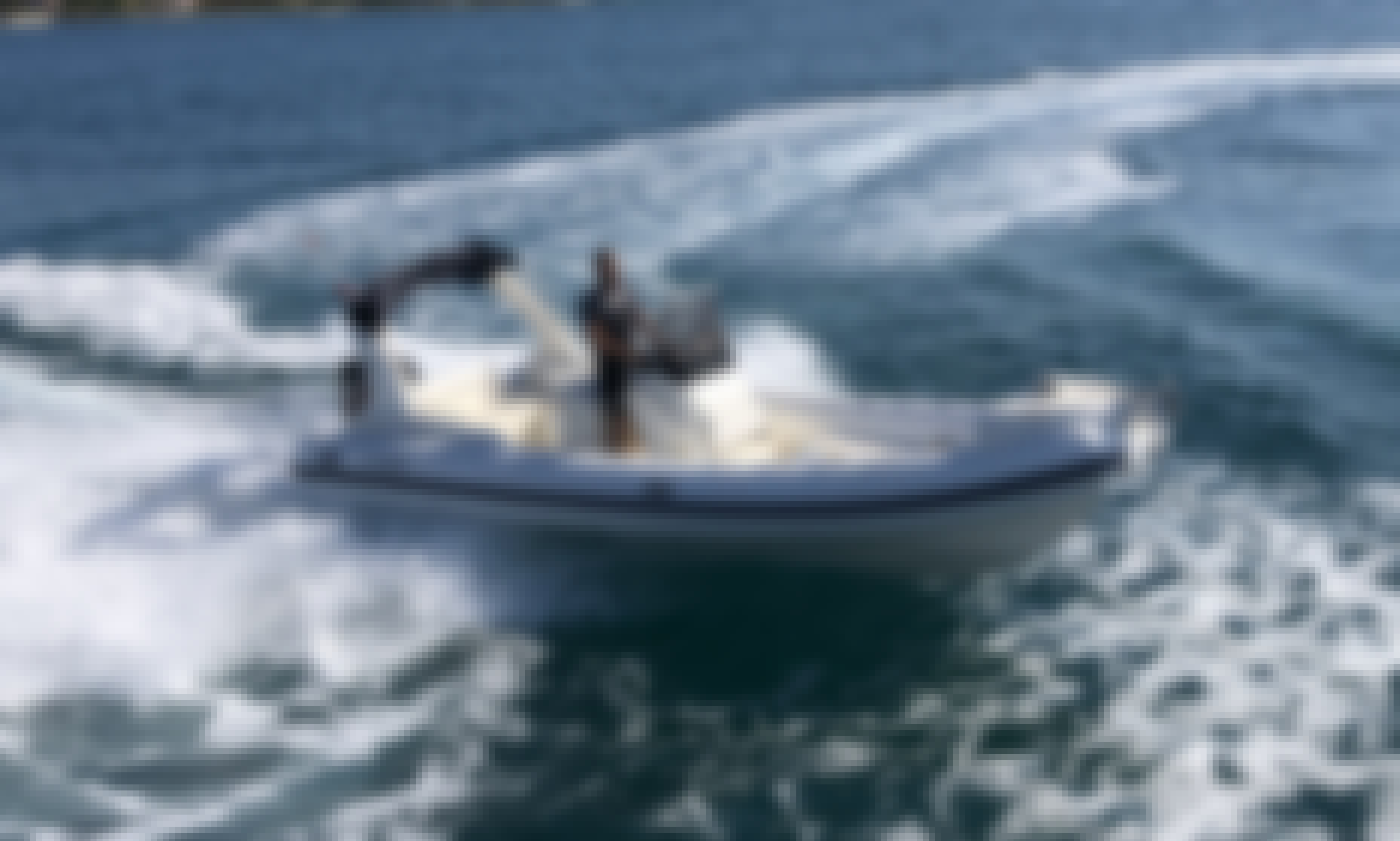 Nuova Jolly King 720 RIB with 250 hp Suzuki Engine for Rent in Biograd na Moru, Croatia
