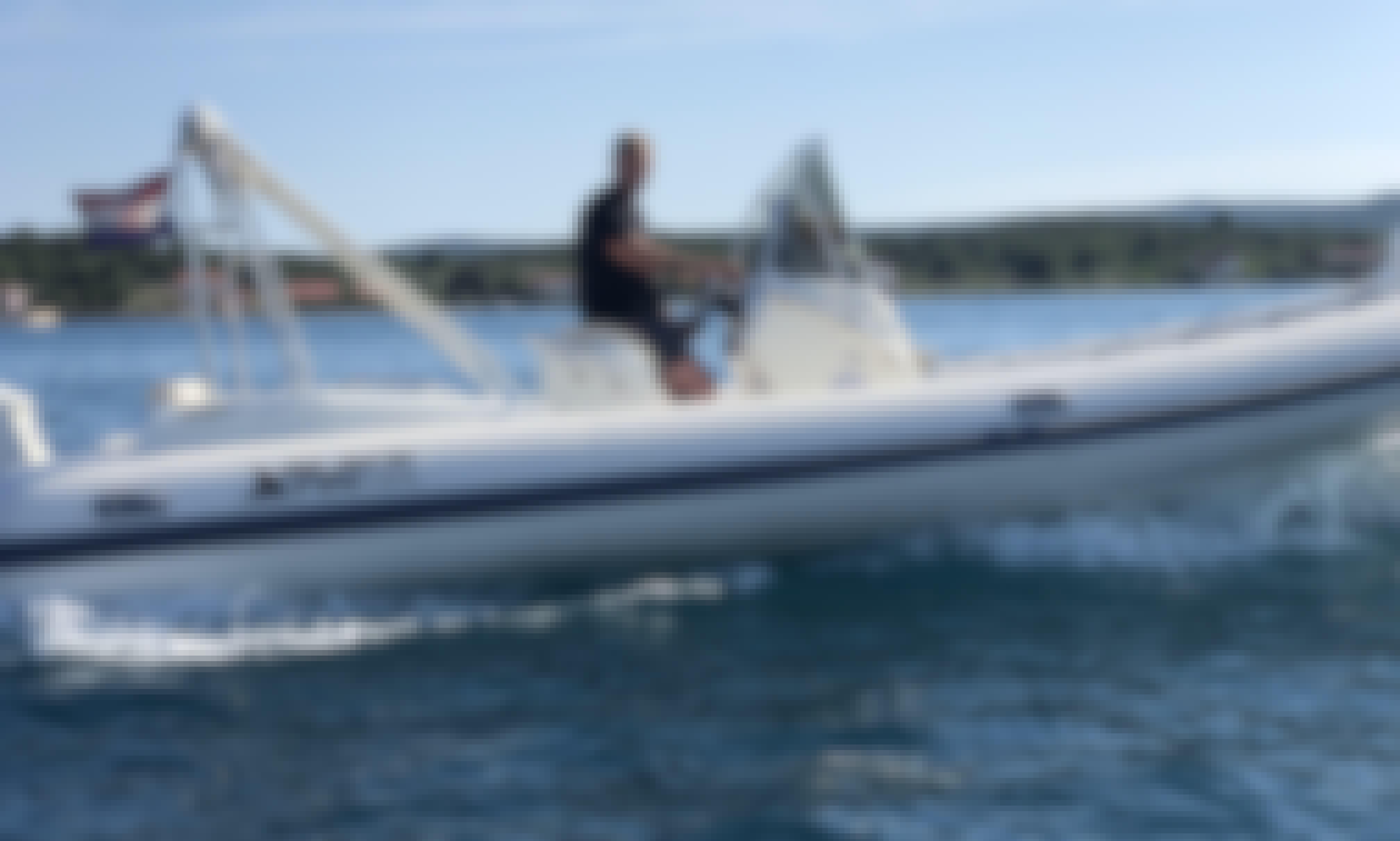 Nuova Jolly Blackfin 25 RIB with Evinrude 250 Outboard Motor in Biograd na Moru