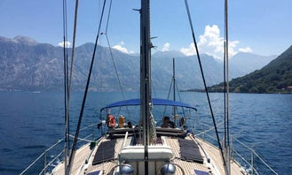 Jeanneau 45.2 Sailing Yacht available to rent for day trips in Montenegro