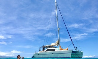 Charter in Waikiki! Experience the ultimate private excursion aboard 1996 42' Catamaran