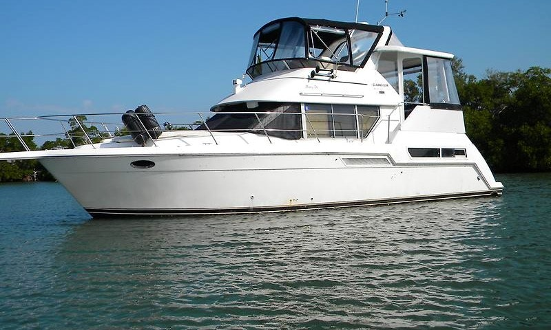 40 Foot Carver Private Yacht Charters W Captain And Chef All Inclusive Packages Getmyboat