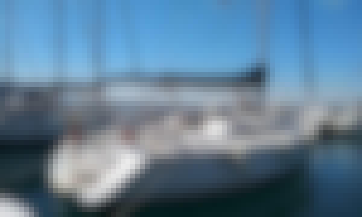 Charter the 42 ft Jeanneau Sun Odyssey in Barcelona, Catalunya