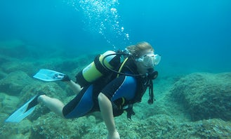 Try Scuba Diving with Professional Guide in Montenegro