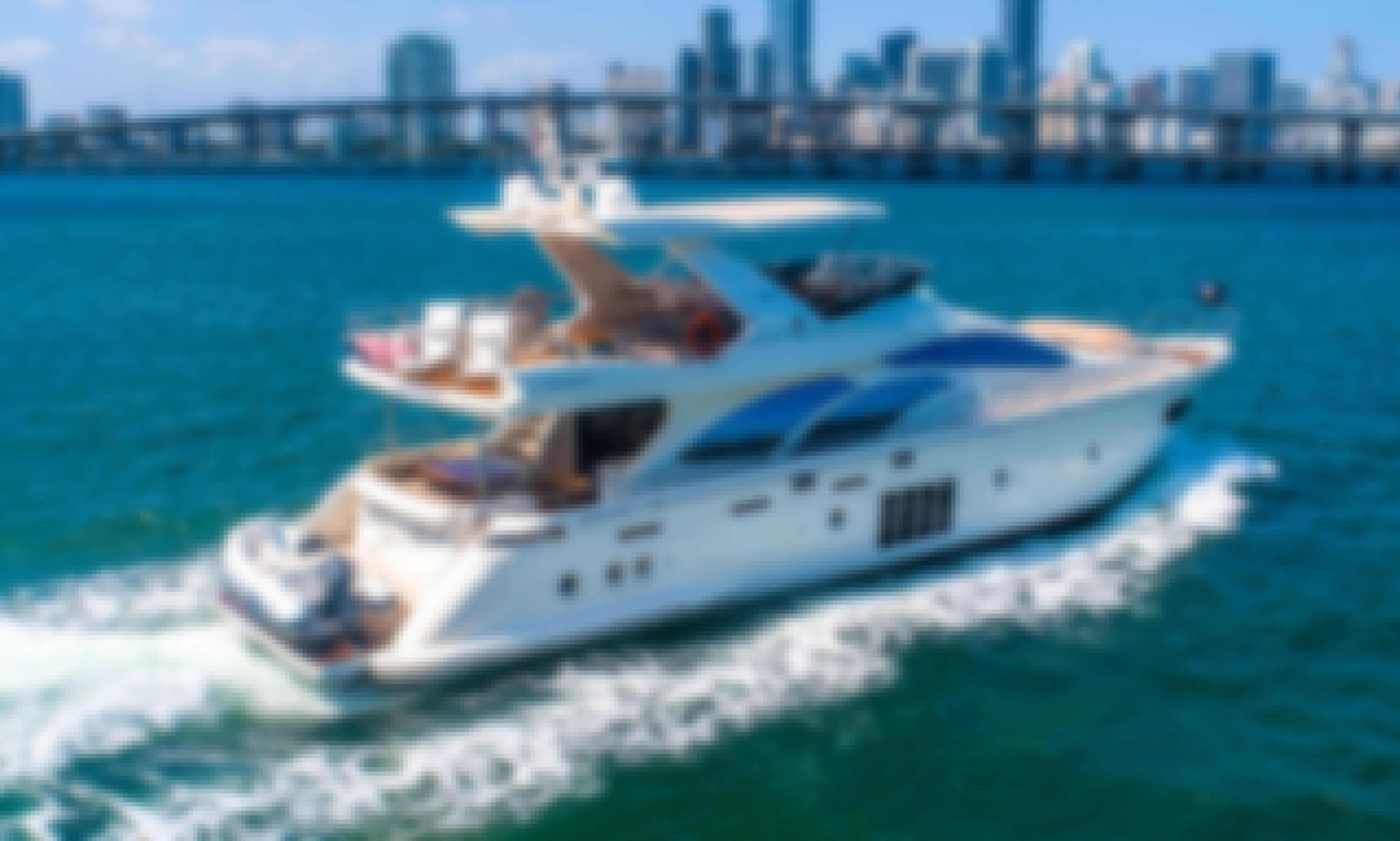 78' Azimut - INCLUDES TAX - Don't Just Rent a Yacht. Rent a Luxury Yachting Experience!