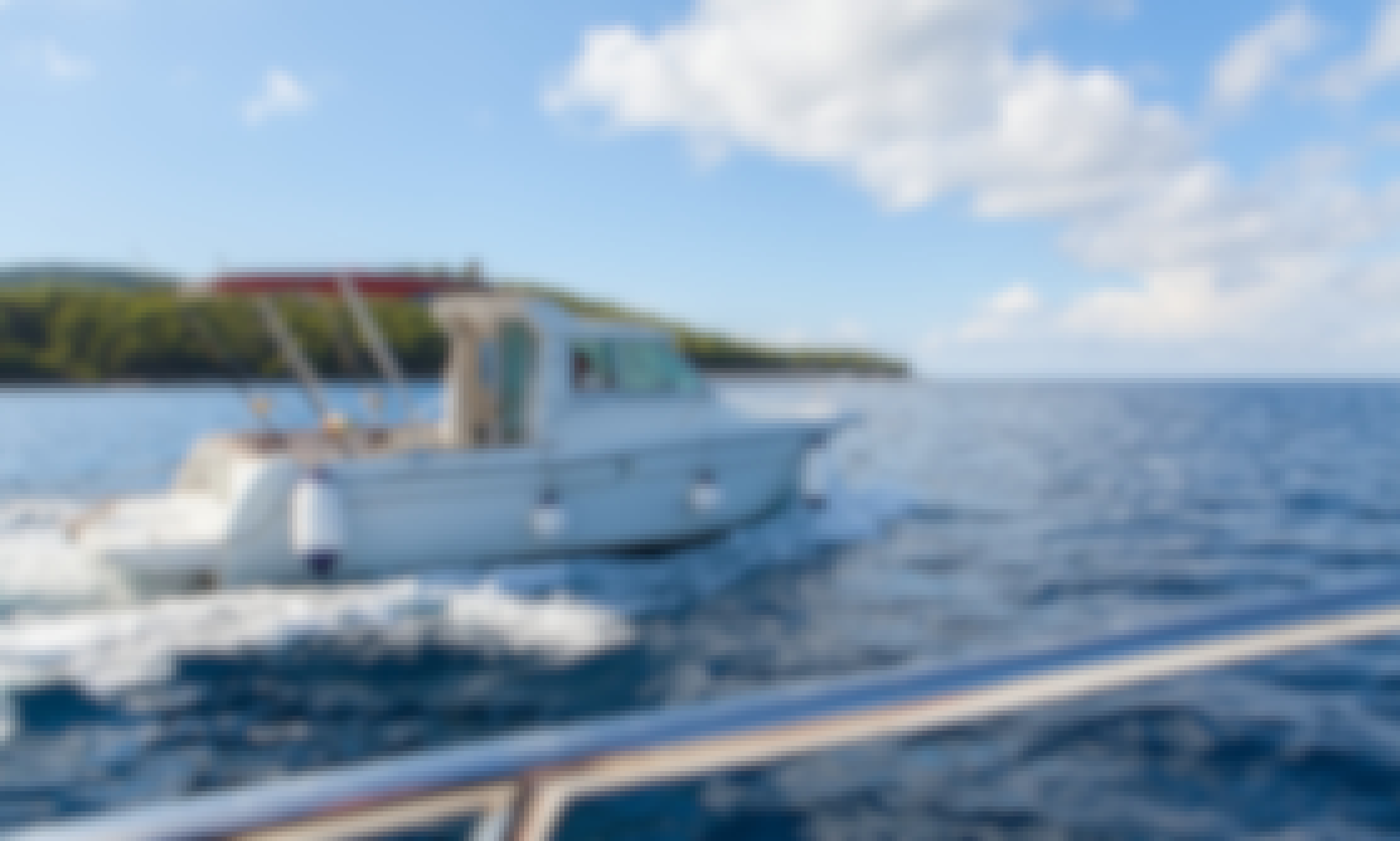 Book Private Tour with Skipper on Jeanneau Merry Fisher 700