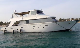 Charter the Most Luxurious & Spacious Yacht in Abu Dhabi-85ft