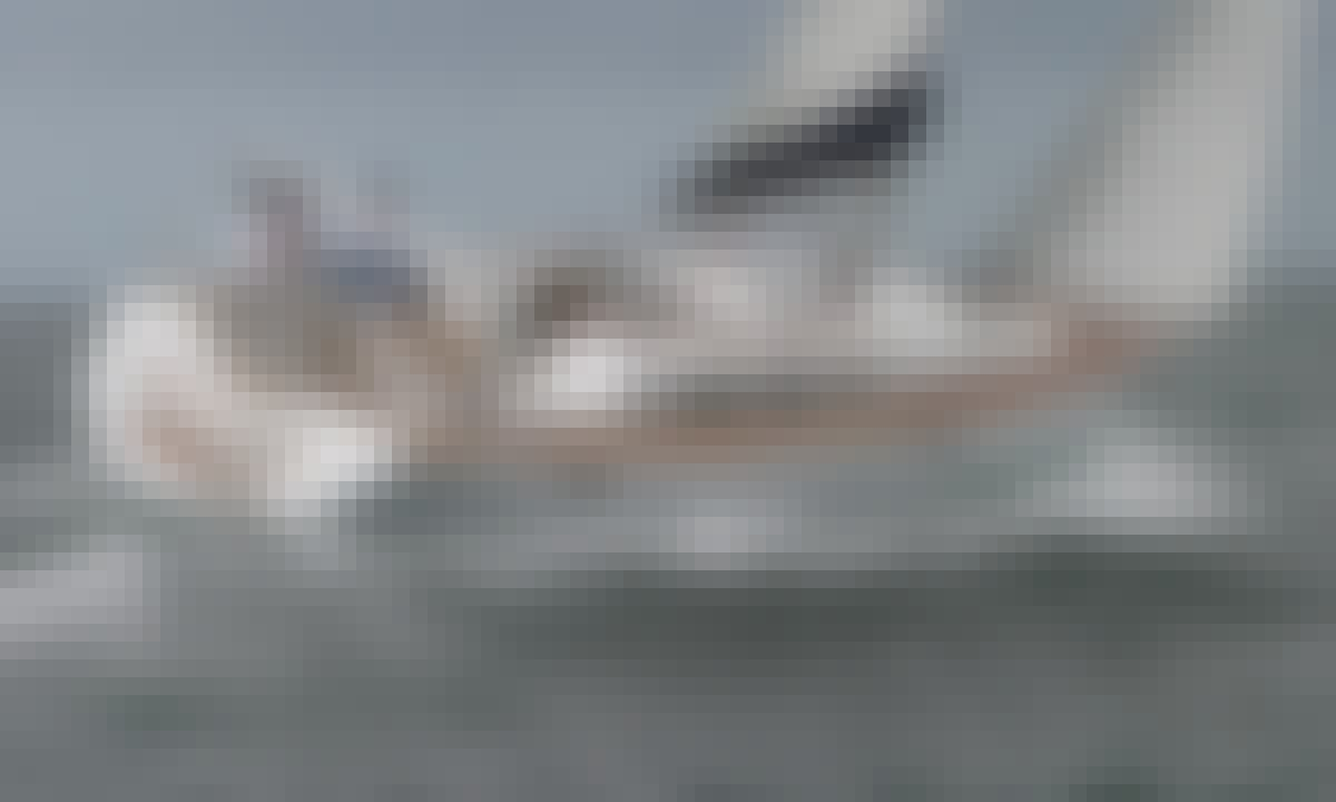 Jeanneau Sun Odyssey 42i Performance Sailing Yacht For 8 People In Lefkada, Greece