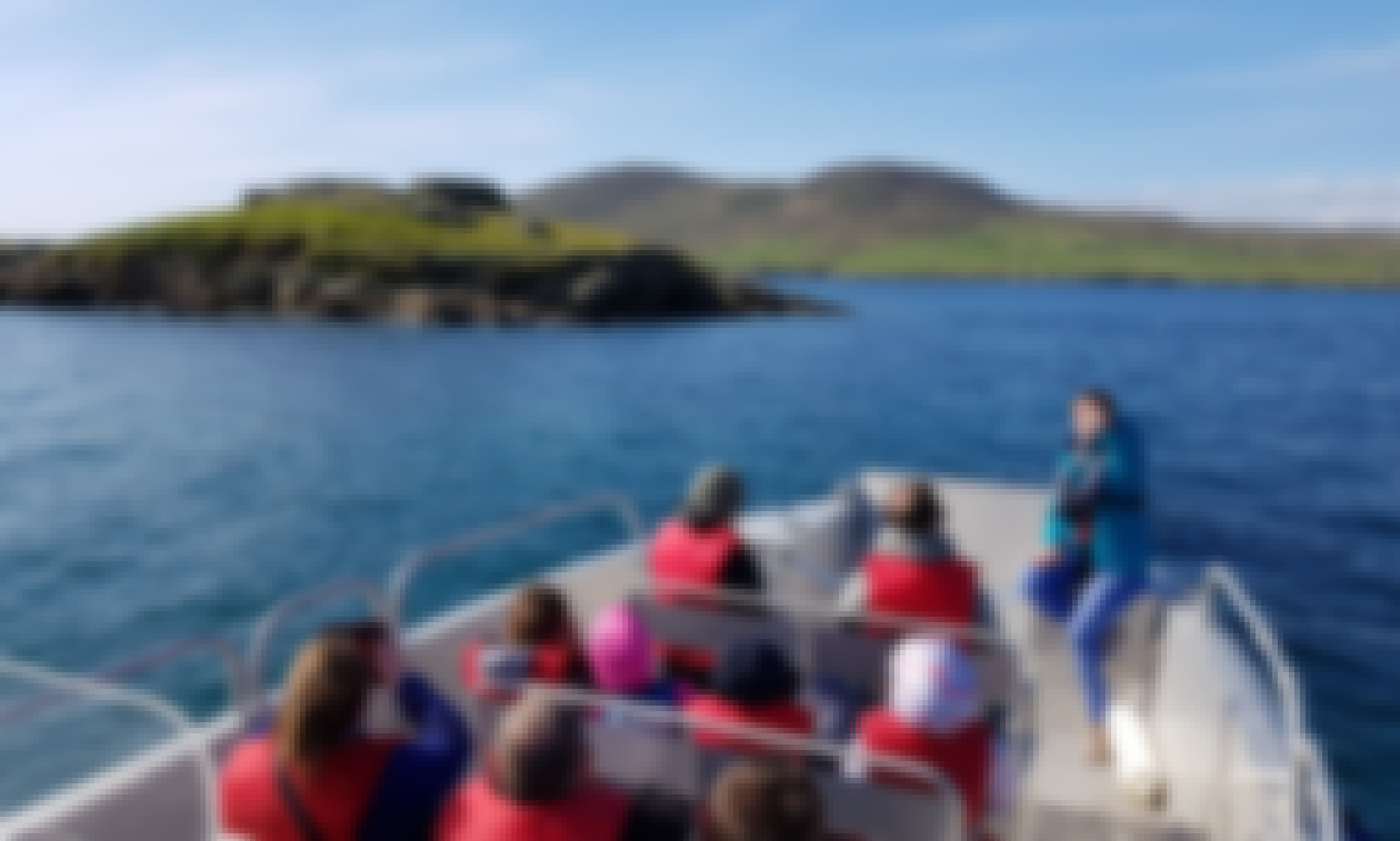 Mobility Friendly Tour Boat on the Ring of Kerry