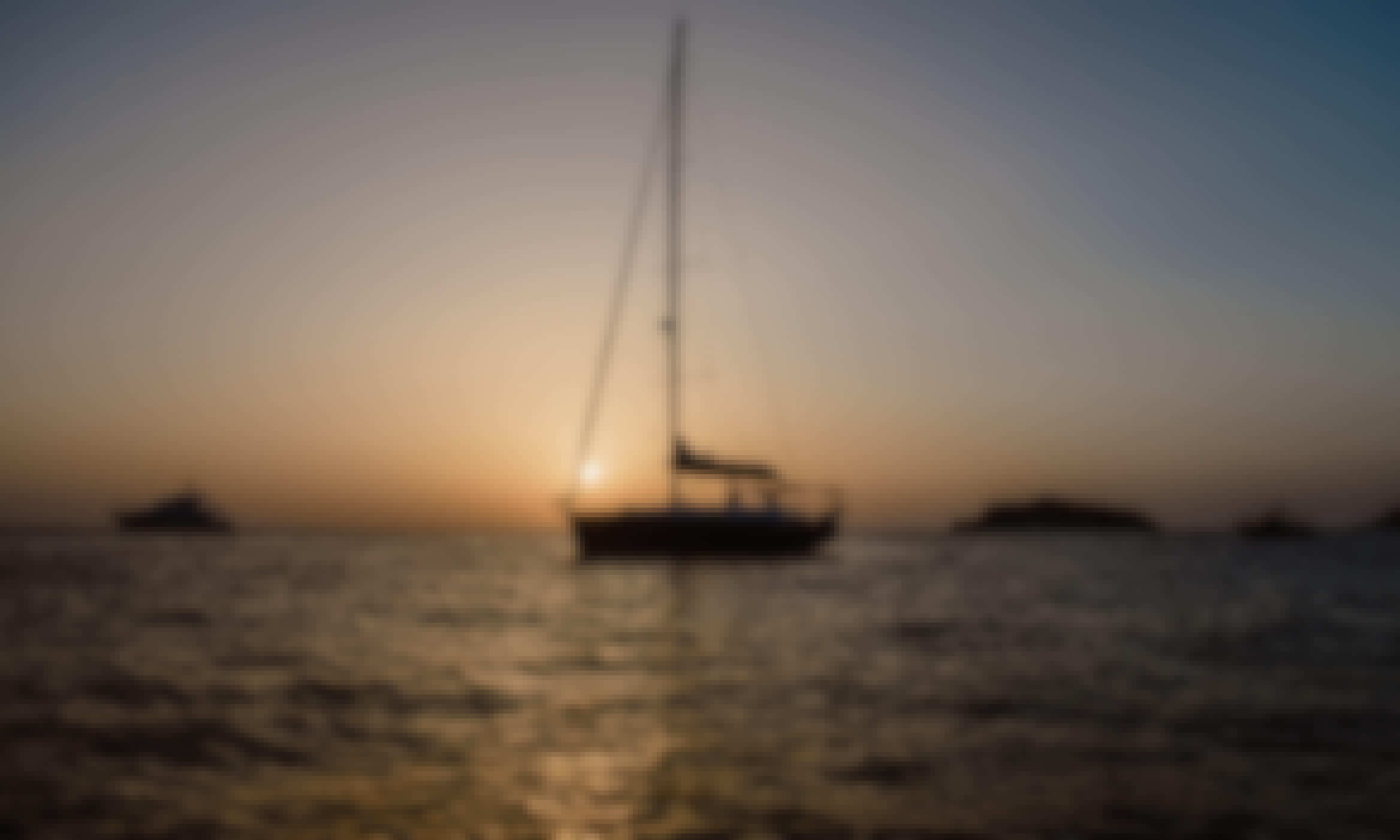 Romantic Sunset in Las Palmas de Gran Canaria