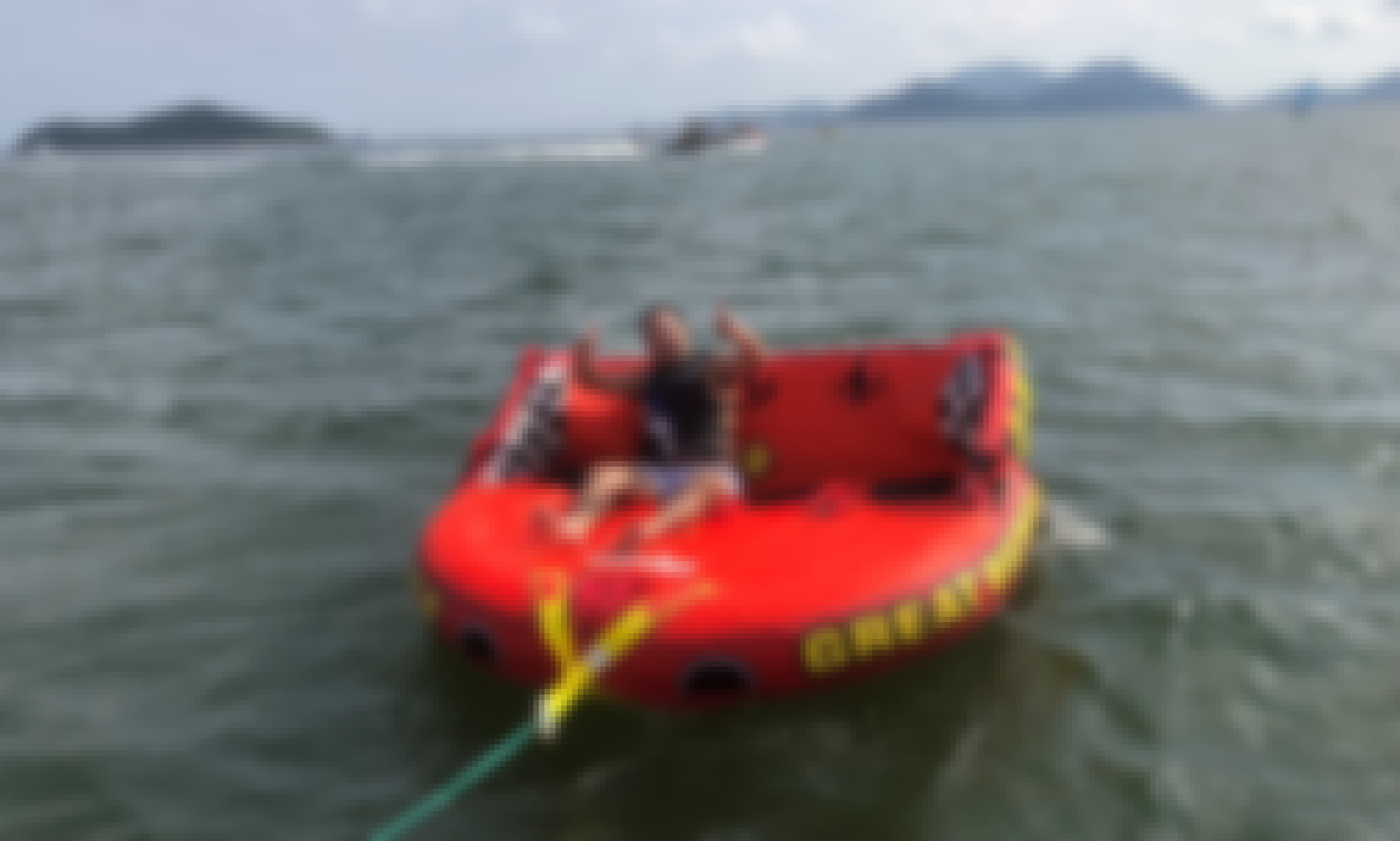 Let's Go Tubing in South Island, Hong Kong!