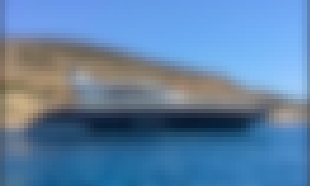 "Book the 72ft ""Eudemonia Kyvos"" Mangusta Power Mega Yacht in Alimos, Greece"