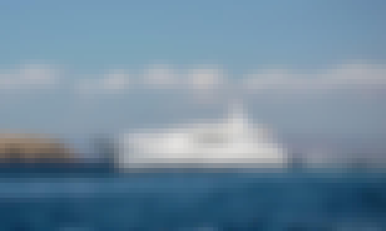 "Charter the 101.9ft ""MI ALMA"" Power Mega Yacht in Alimos, Greece"