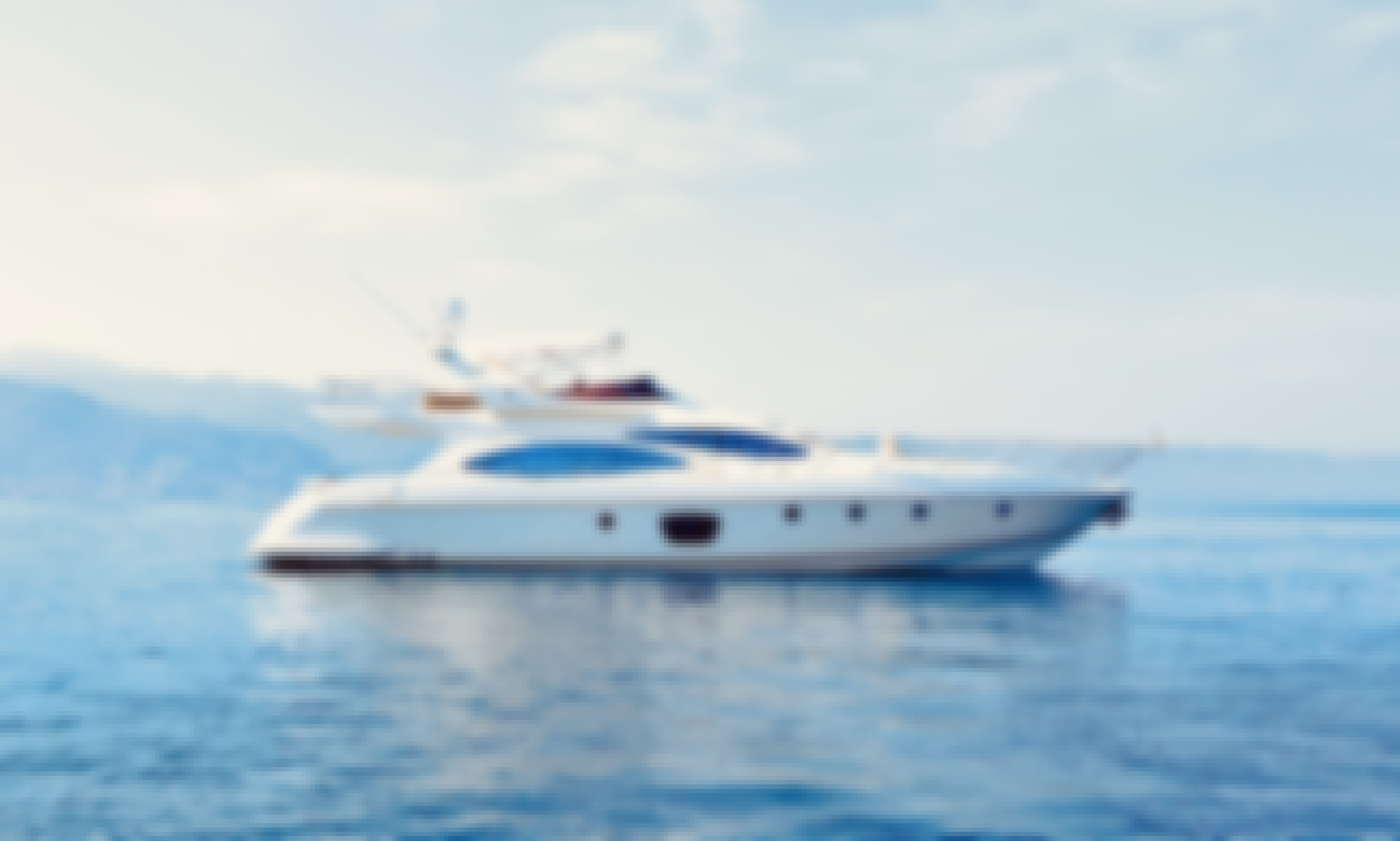 The Luxury Private Azimut 68 EVO Yacht Charter