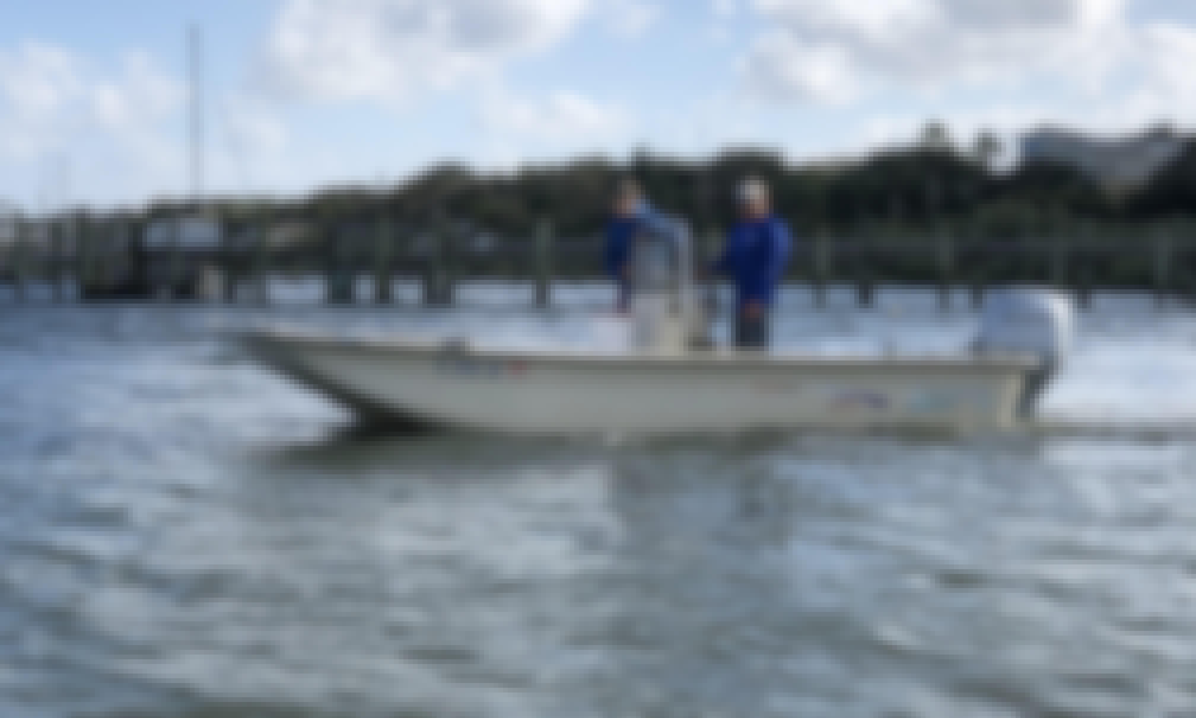 Reel Dream Fishing Charters 19ft