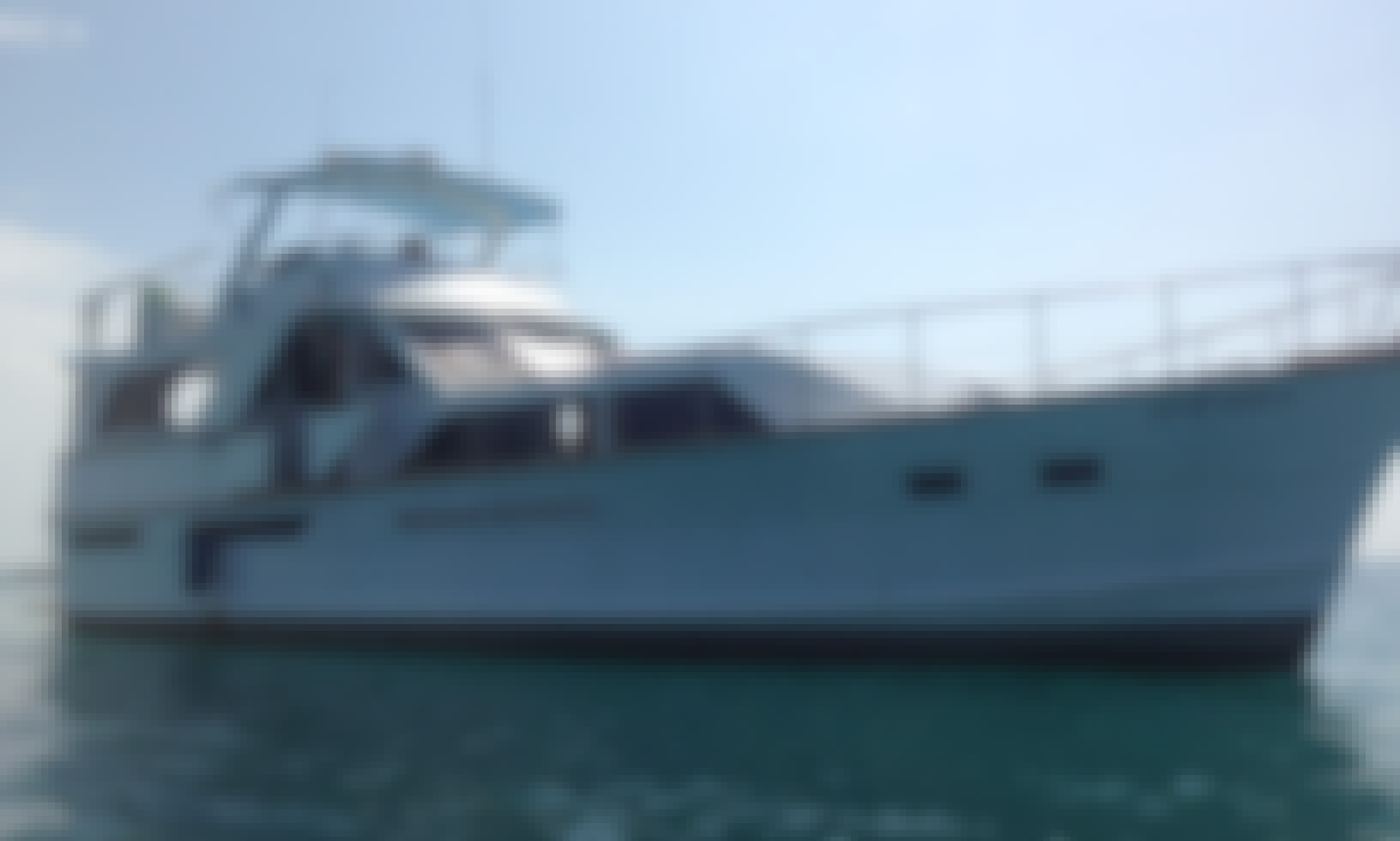 Cartagena Islands in Style on 55ft Pacemaker Cruiser