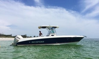 30ft Scarab Center Console Ready for Fun in Cape Coral/Fort Myers Area