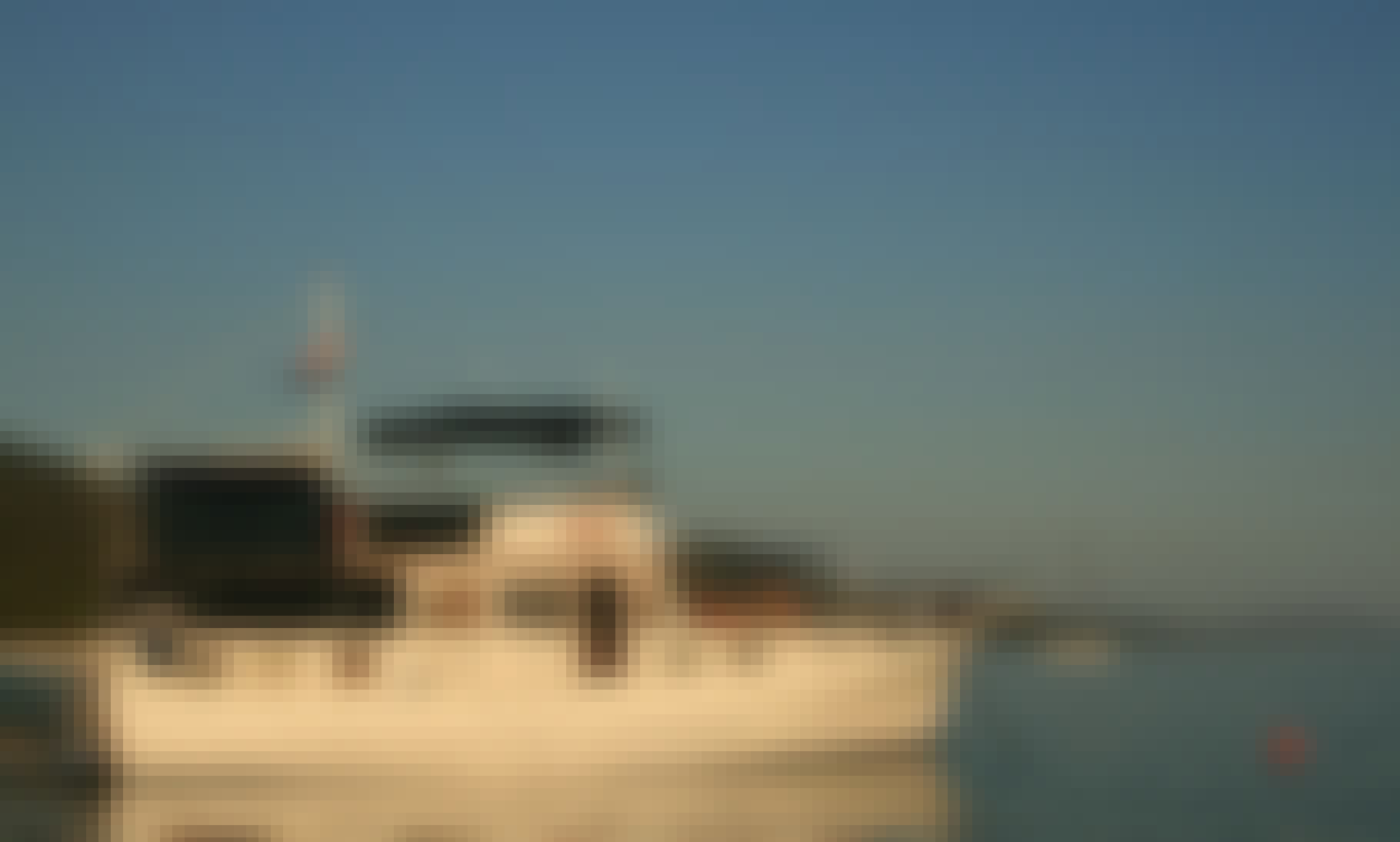 Luxury Classic Trawler Yacht for weekly rent in Zadar Croatia