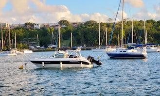 24ft Bowrider Boat Rental in Salvador City, Bahia