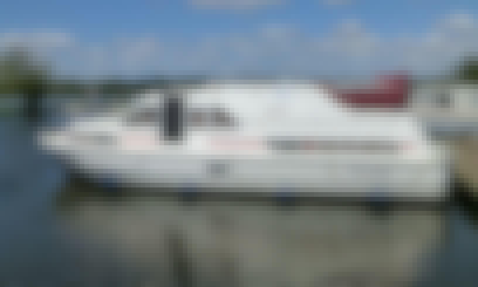 ALBATROS Riverboat in Baye on the Canal du Nivernais in Burgundy
