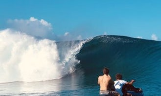 Book a Teahupoo Wave Watching with us!