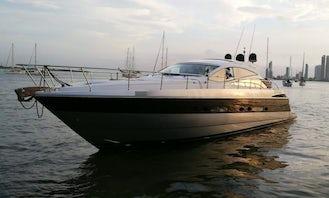 Pershing 56 Motor Yacht Charter in Cartagena, Bolívar