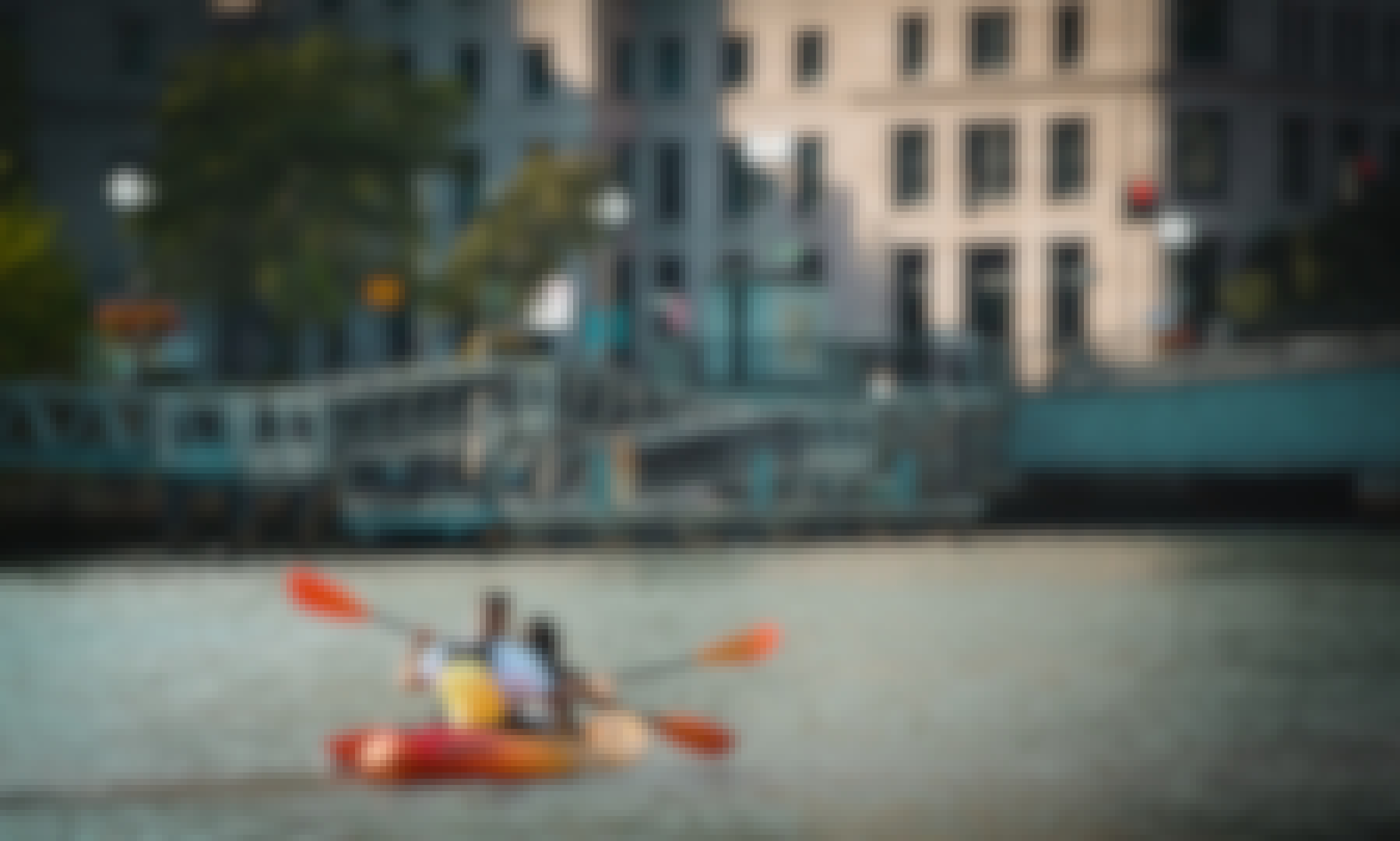 Kayak Rentals in the heart of Downtown Providence!