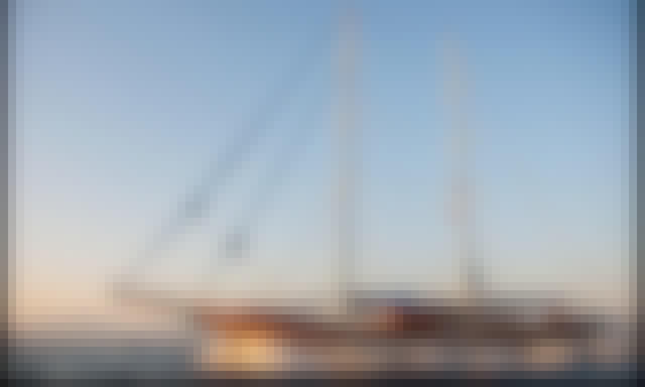 120' Luxury Sailing Gulet for up to 16 People in Gocek Fethiye, Muğla