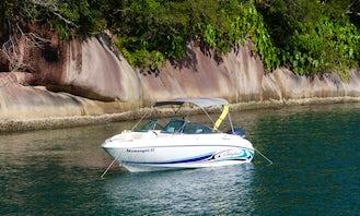 Motor Yacht Rental in Rio de Janeiro, Brazil for 7 person!