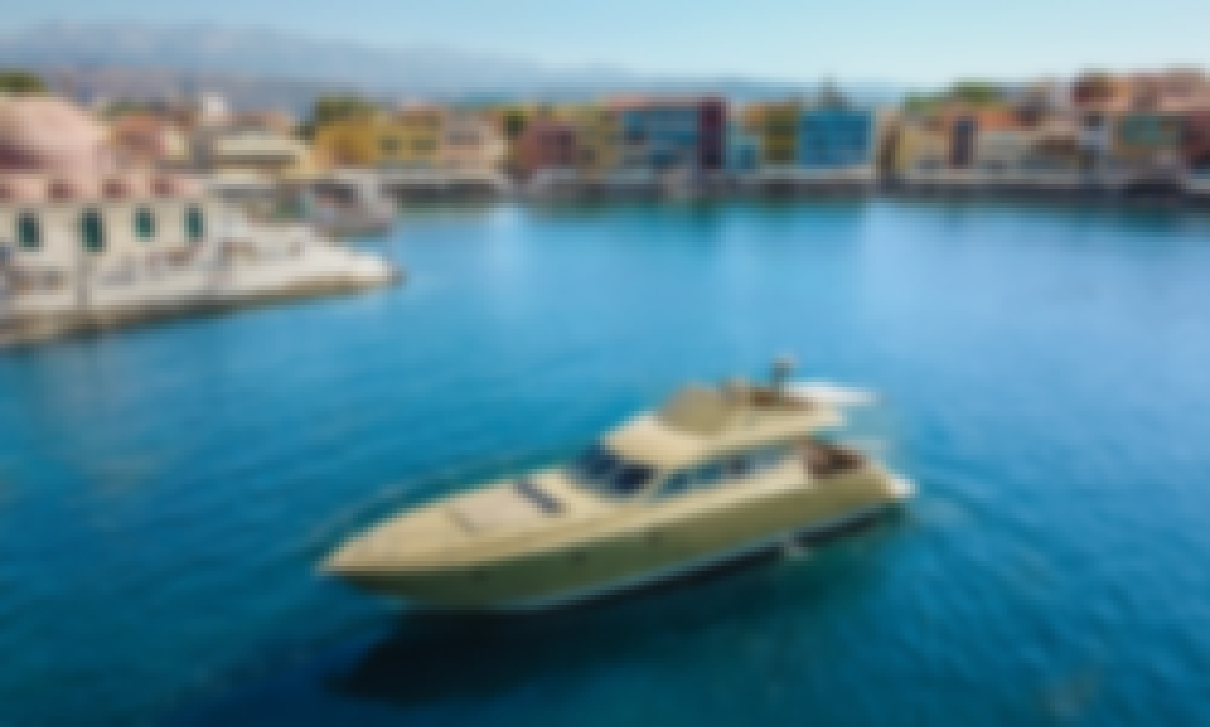 Lady Roula Dufin 57 motor yacht in Chania