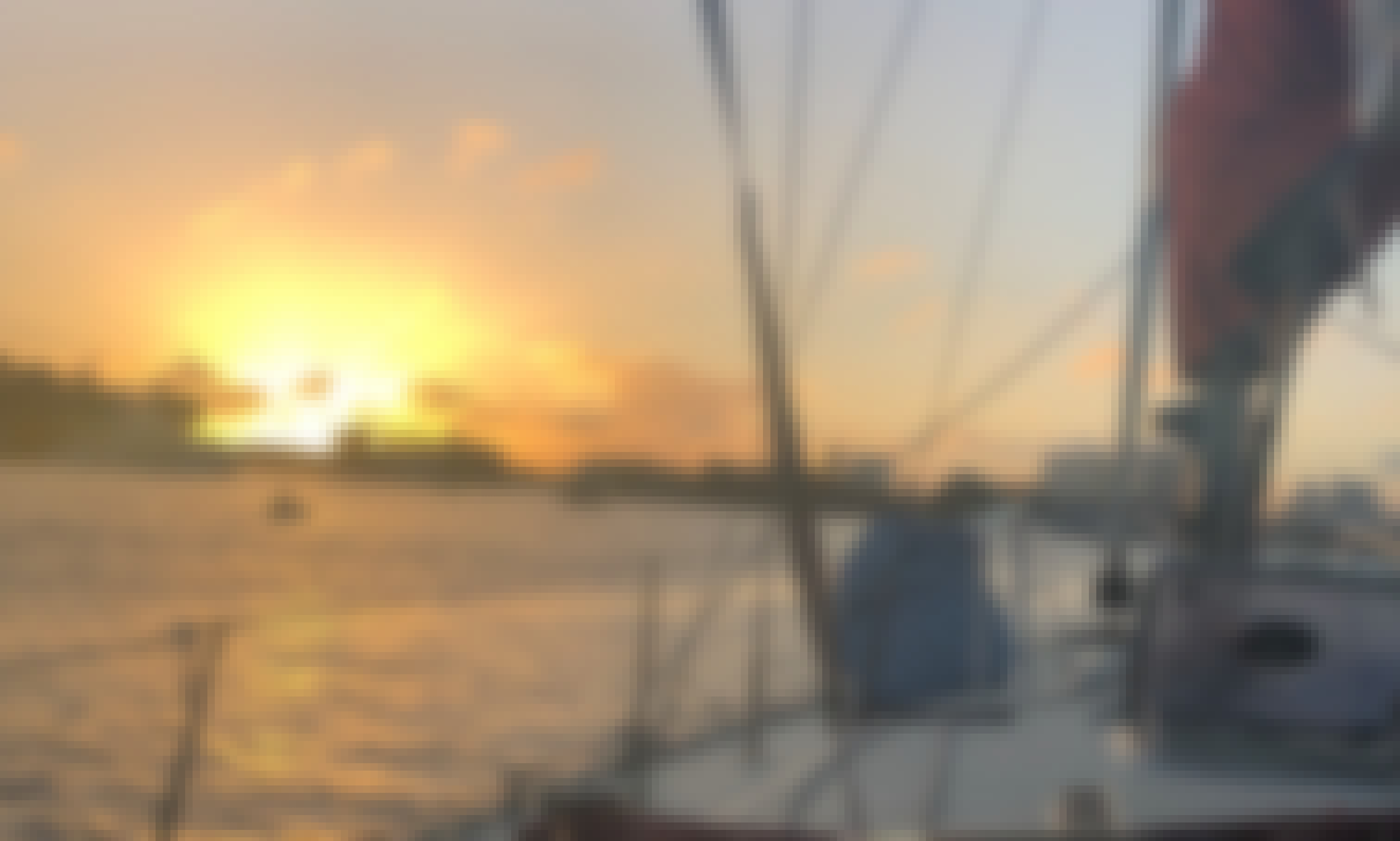 Sunset River Cruise for up to 6 people onboard 40' Jeanneau Sailboat!