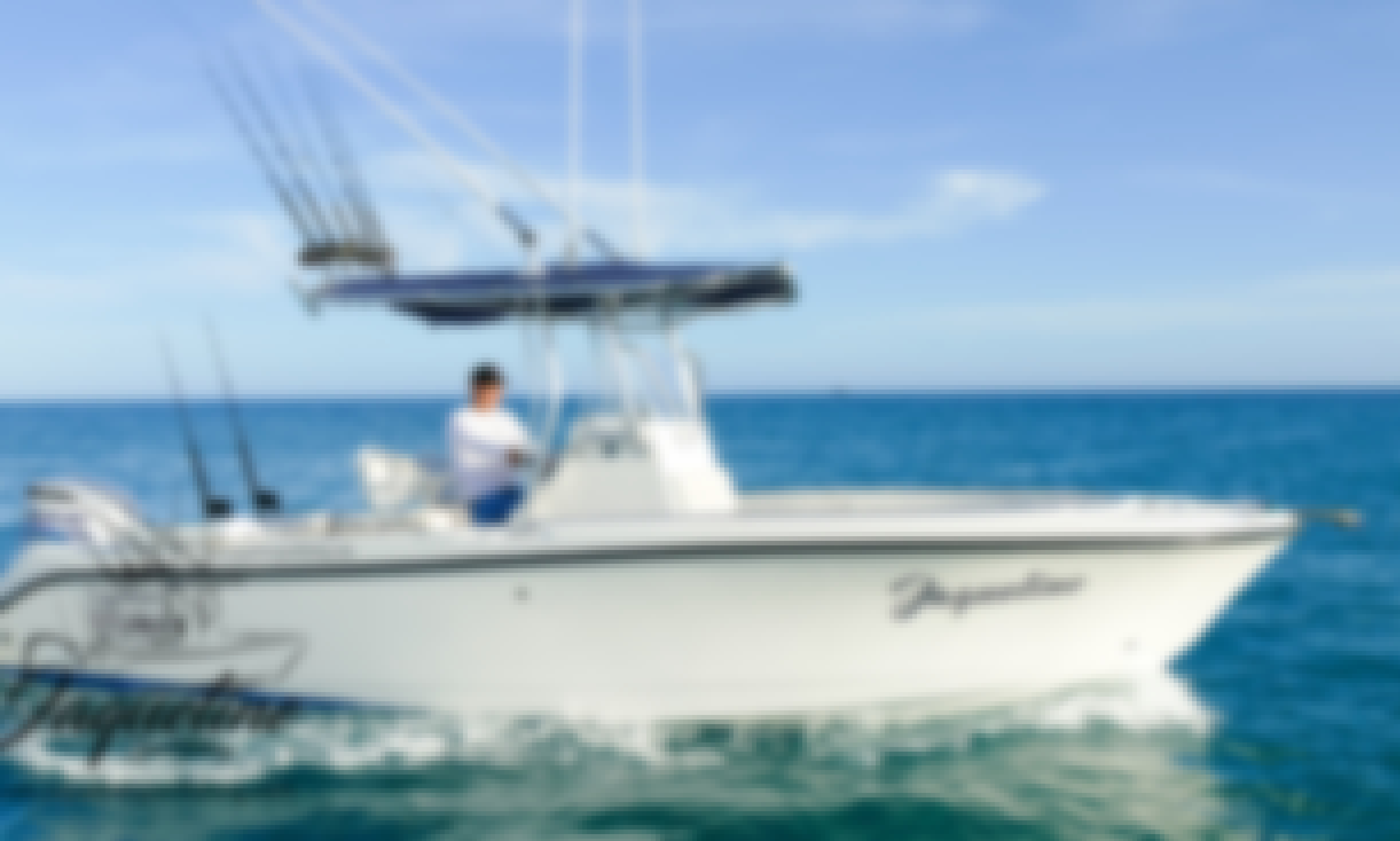 Fishing Charter in San José del Cabo México with Captain Gonzalo