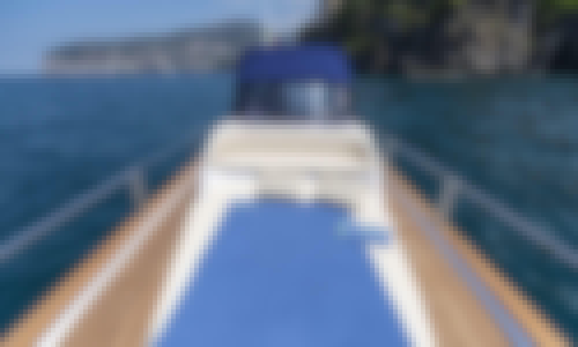 Luxury 28 feet gozzo in Positano