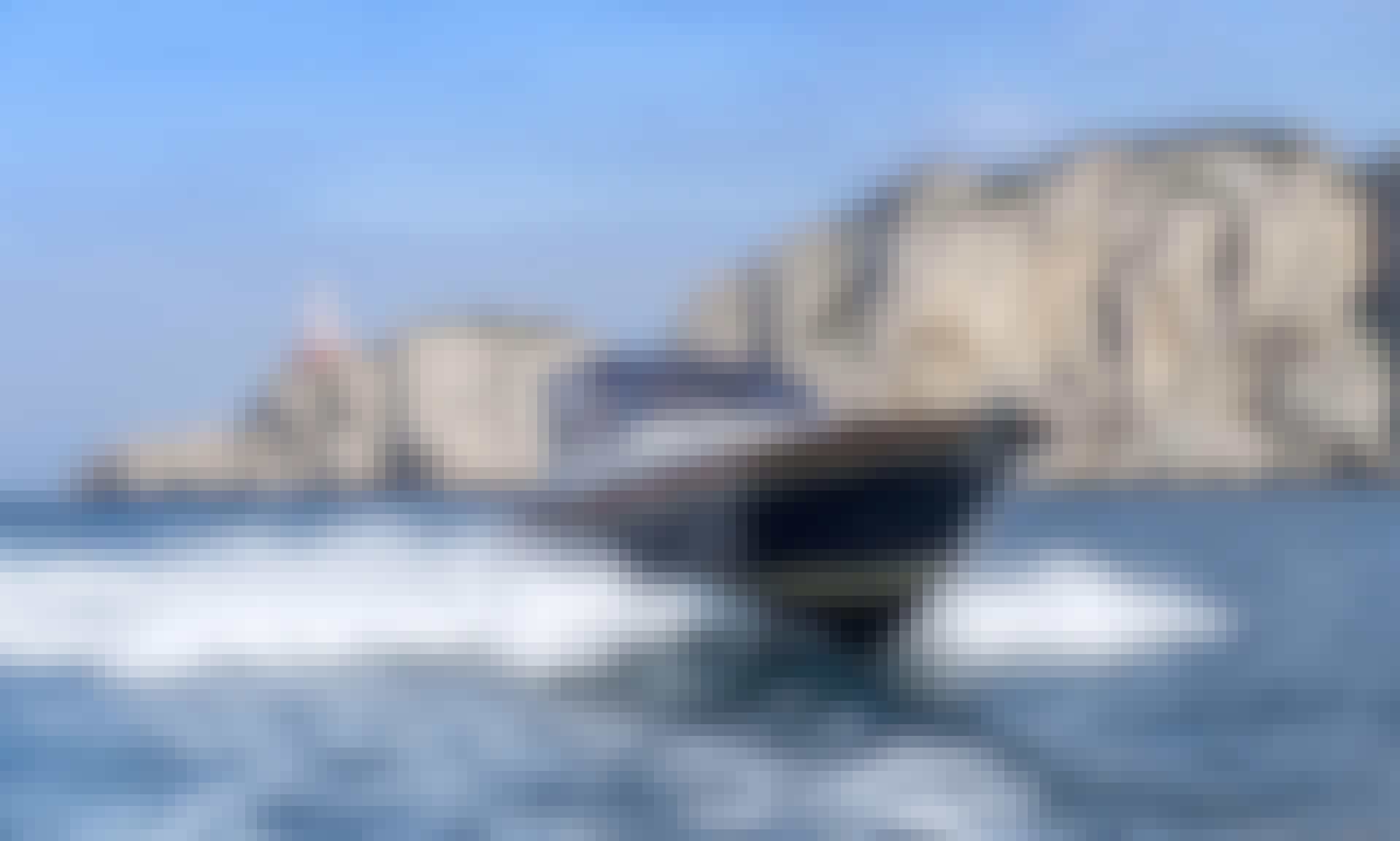Luxury 36 feet gozzo in Capri