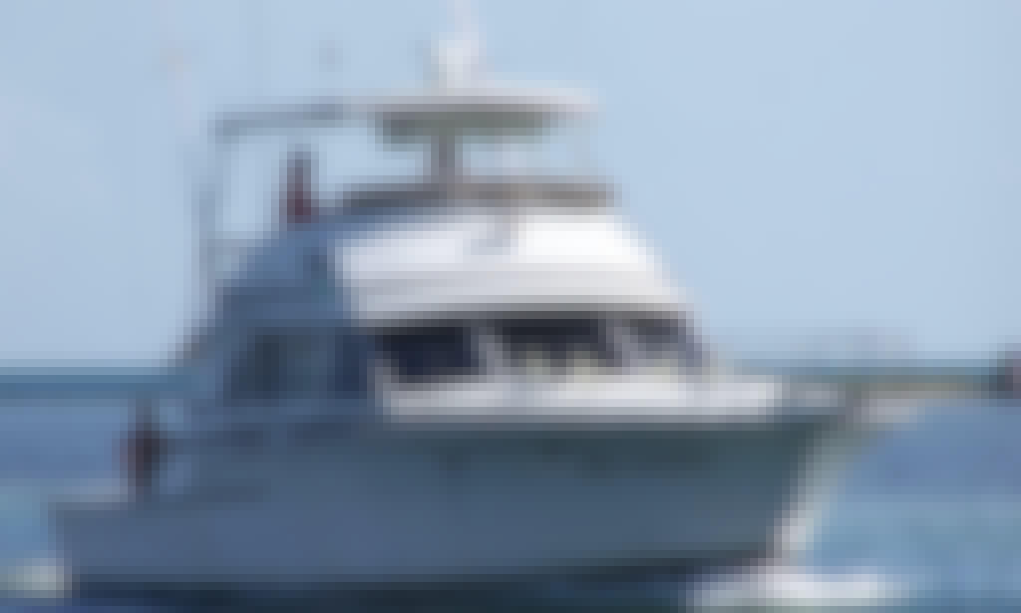Deep Sea Fishing Charter onboard 46' Bertram Sportfisherman in Key West, Florida!