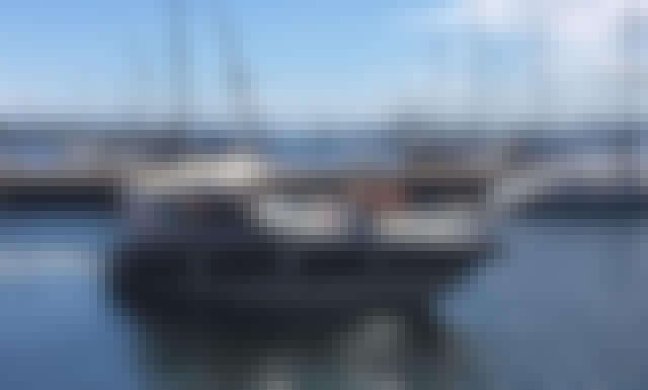 Real 32 feet Motor Yacht in Rio de Janeiro, Brazil for 12 person!