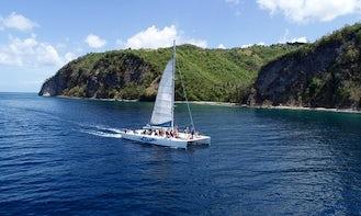Tout Bagay Soufriere Catamaran Day Tour - Book now!