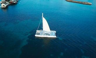 Private Catamaran - Full Day Charter in Sta. Lucia