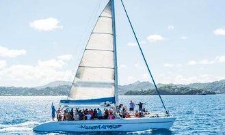 Catamaran Day Tour to Soufriere (Cruise Passengers)