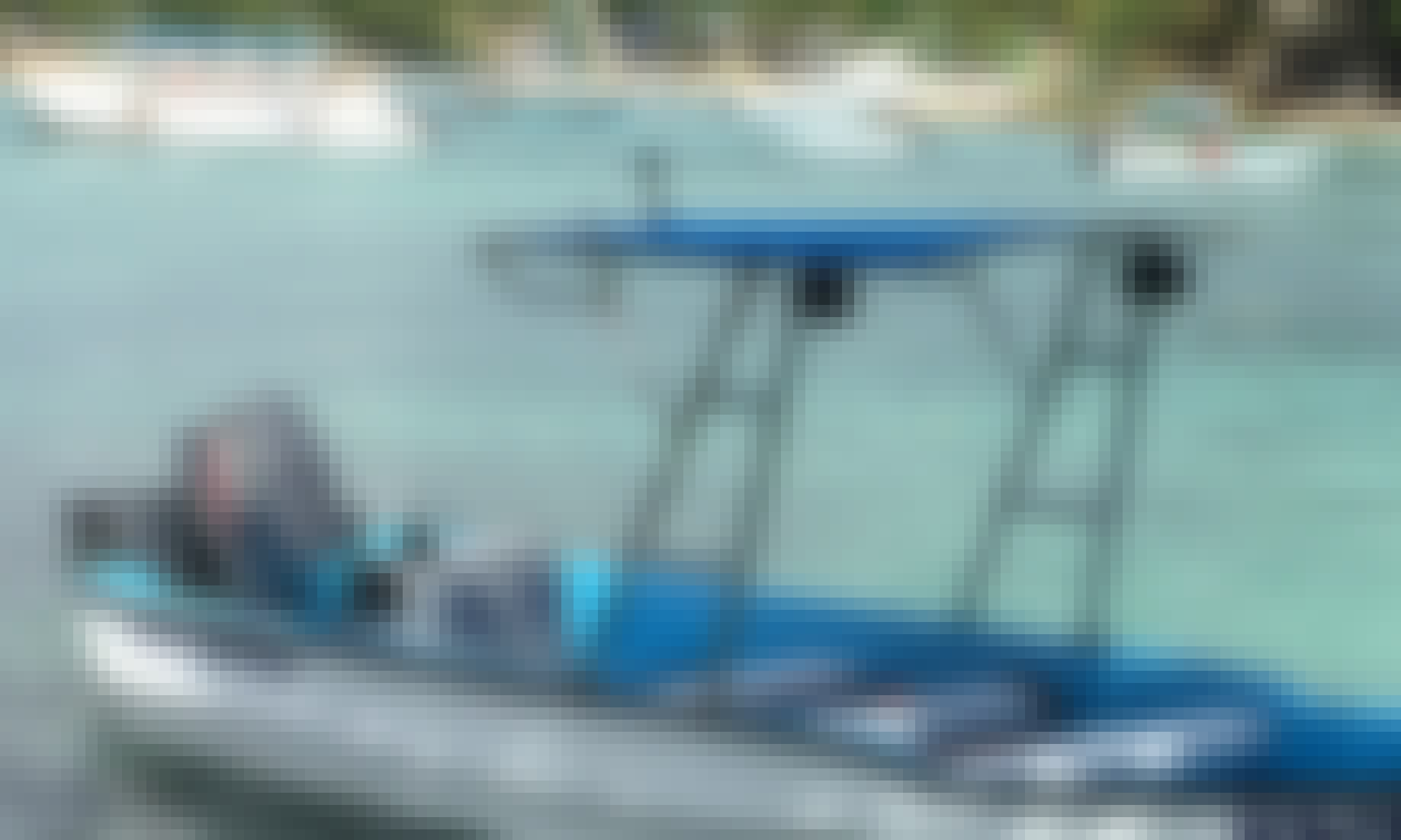 Private Chanchi Center Console For Charter in Saona Island Bayahibe Rd