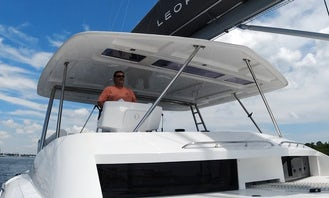 58ft Leopard Catamaran Five Cabin in St. Thomas, USVI