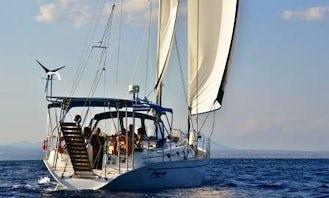50' Oceanis Sailing Charter in Karadmyli-Stoupa-Ag Nikolaos
