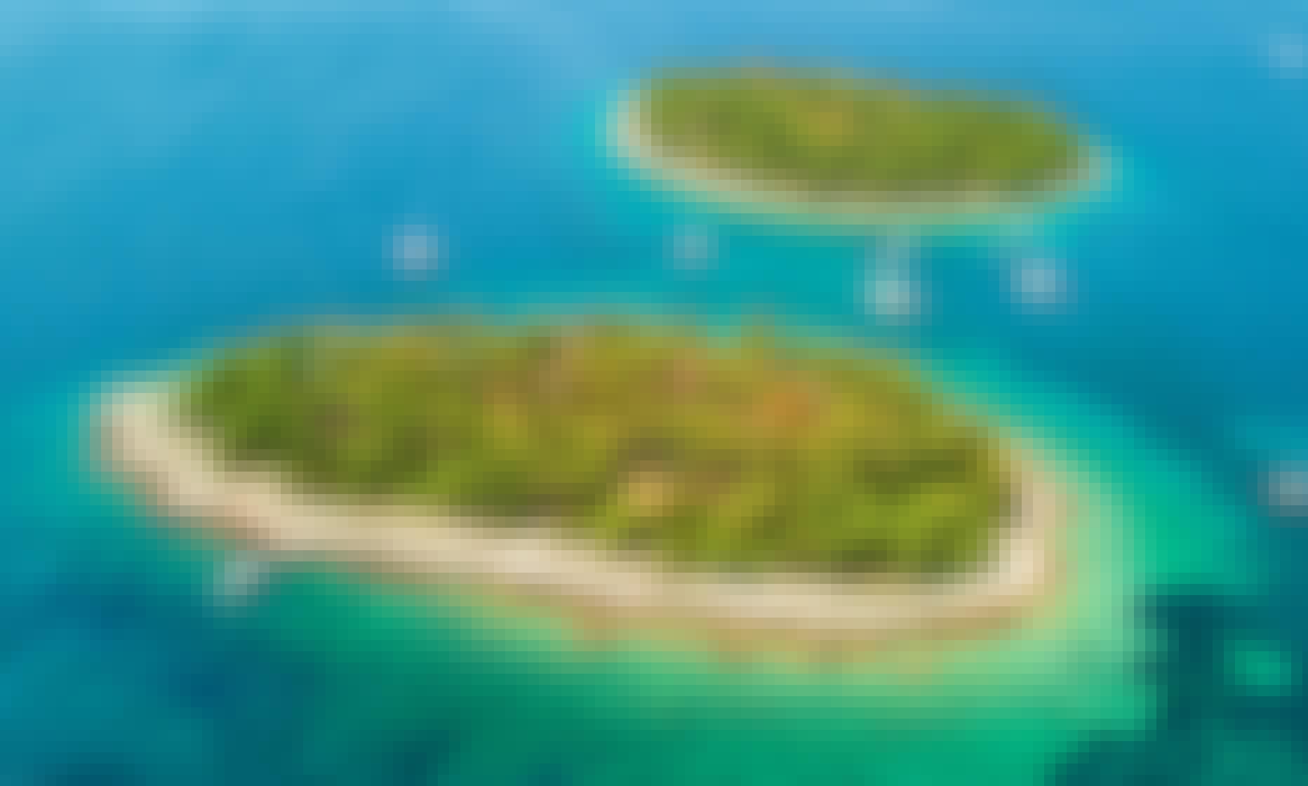 Blue Lagoon & Trogir, 3 islands half day Morning tour from Split, Croatia