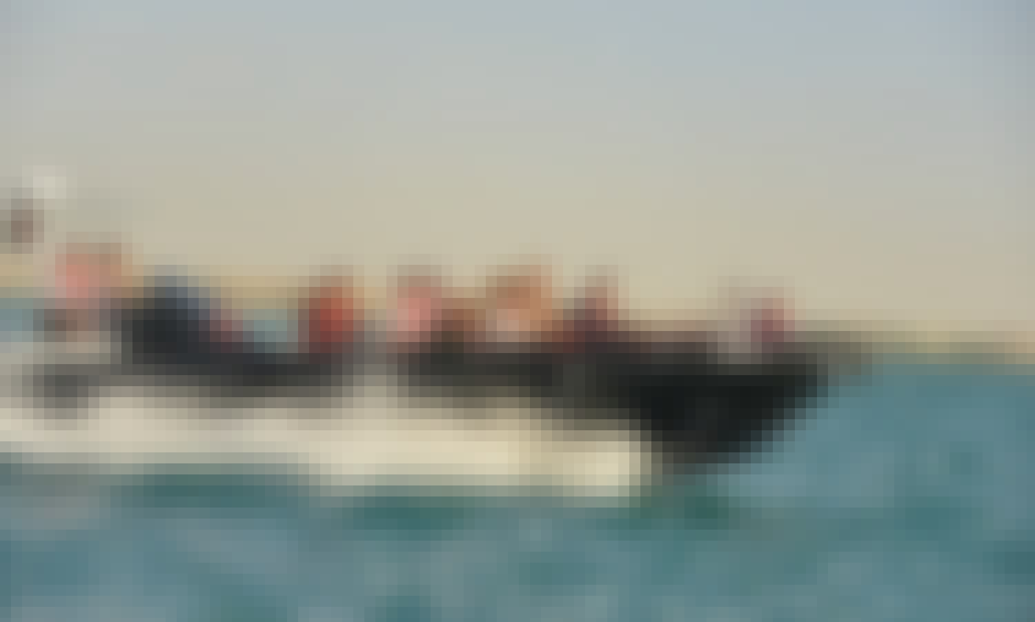 The Black Boats sightseeing tour (enjoy our new and fast boats) 90min Marasi Canal and Jumeira Bay Island, World island and Burj Al Arab