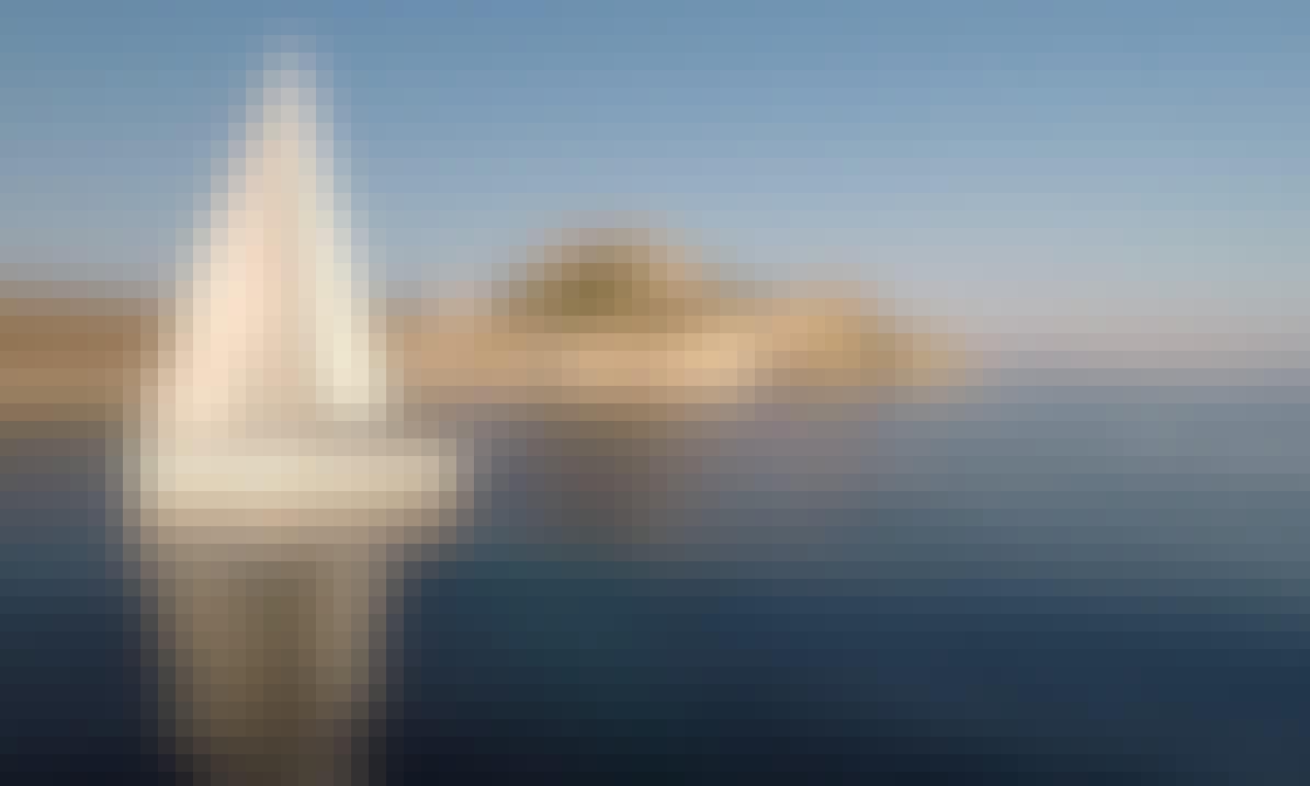 """Yolo"" Jeanneau Sun Odyssey 509 Cruising Monohull in Gouvia Marina Corfu, Greece"